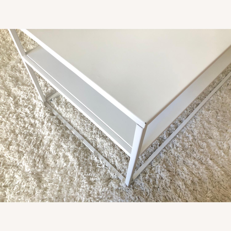 Target White Modern Coffee Table Metal - image-4