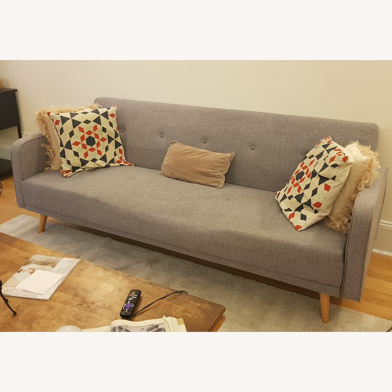 Grey Sofa Bed - image-2
