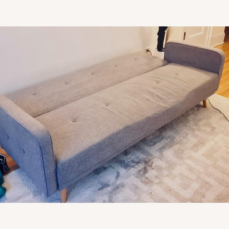 Grey Sofa Bed - image-3