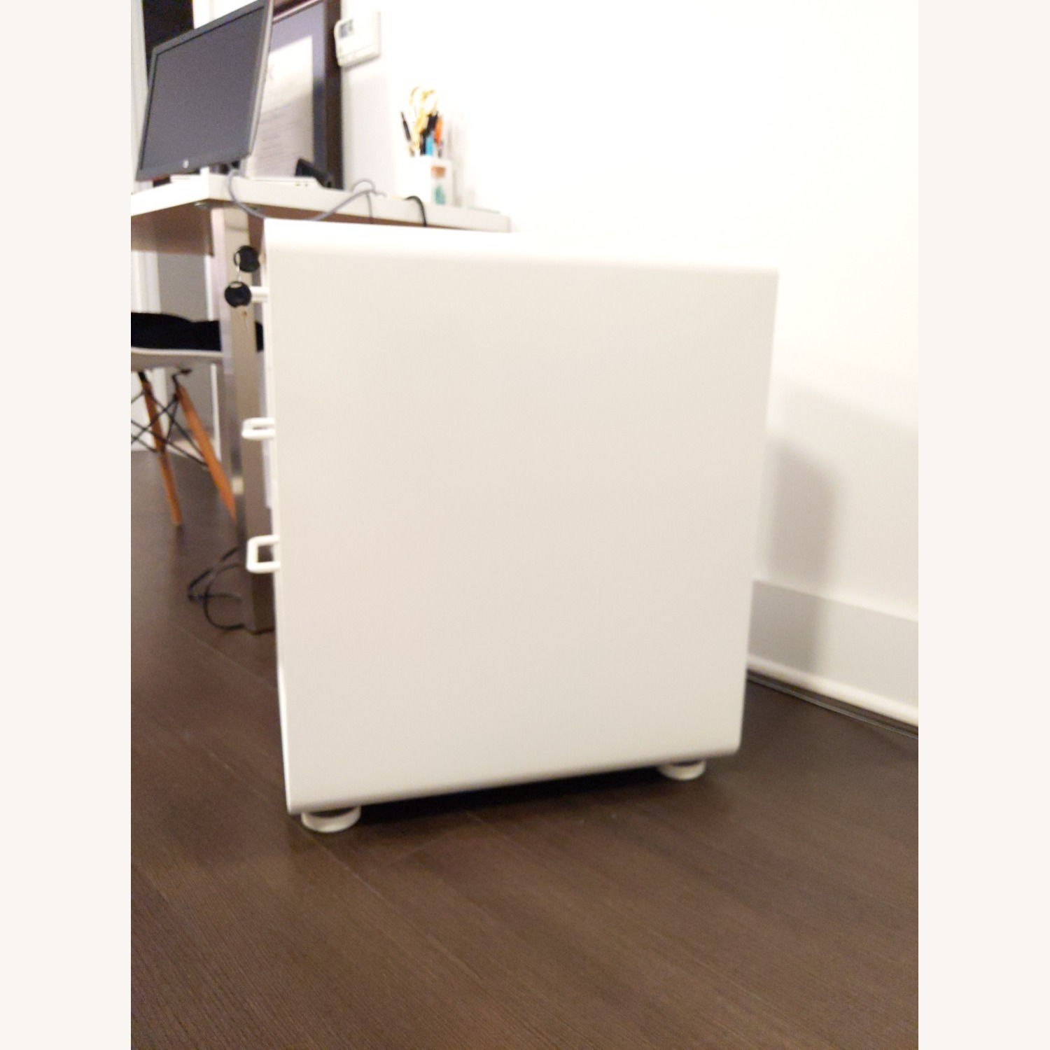 Poppin White Stow 3-Drawer File Cabinet - image-3