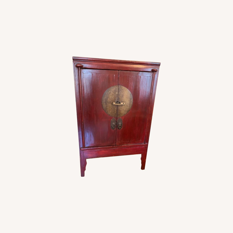 Vintage Chinese Wardrobe Cabinet. - image-0