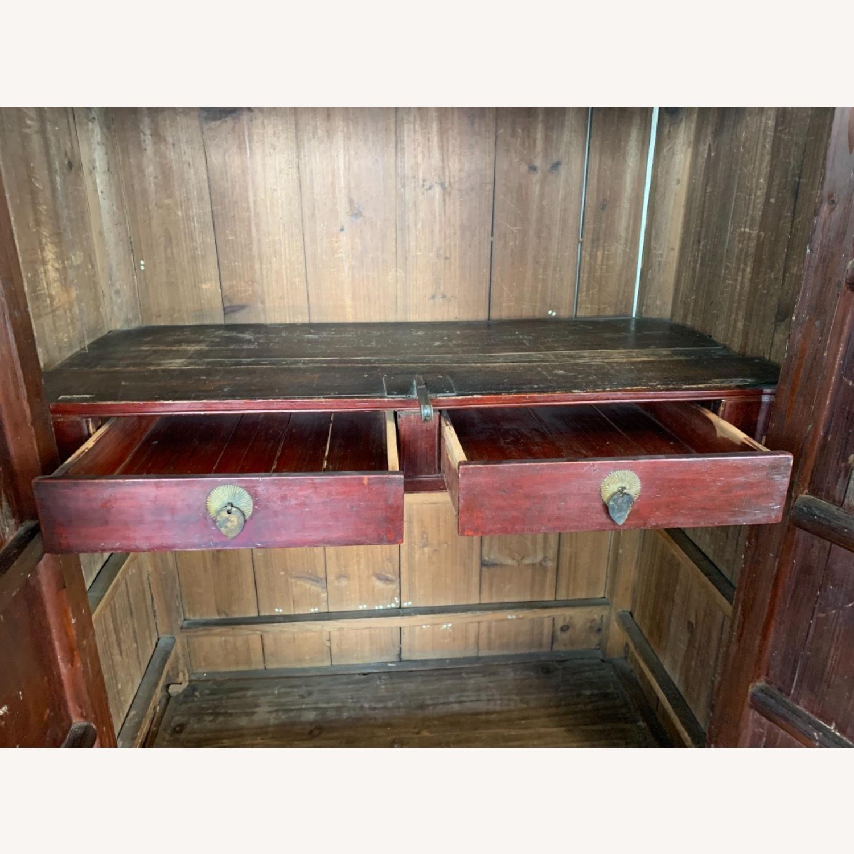Vintage Chinese Wardrobe Cabinet. - image-4