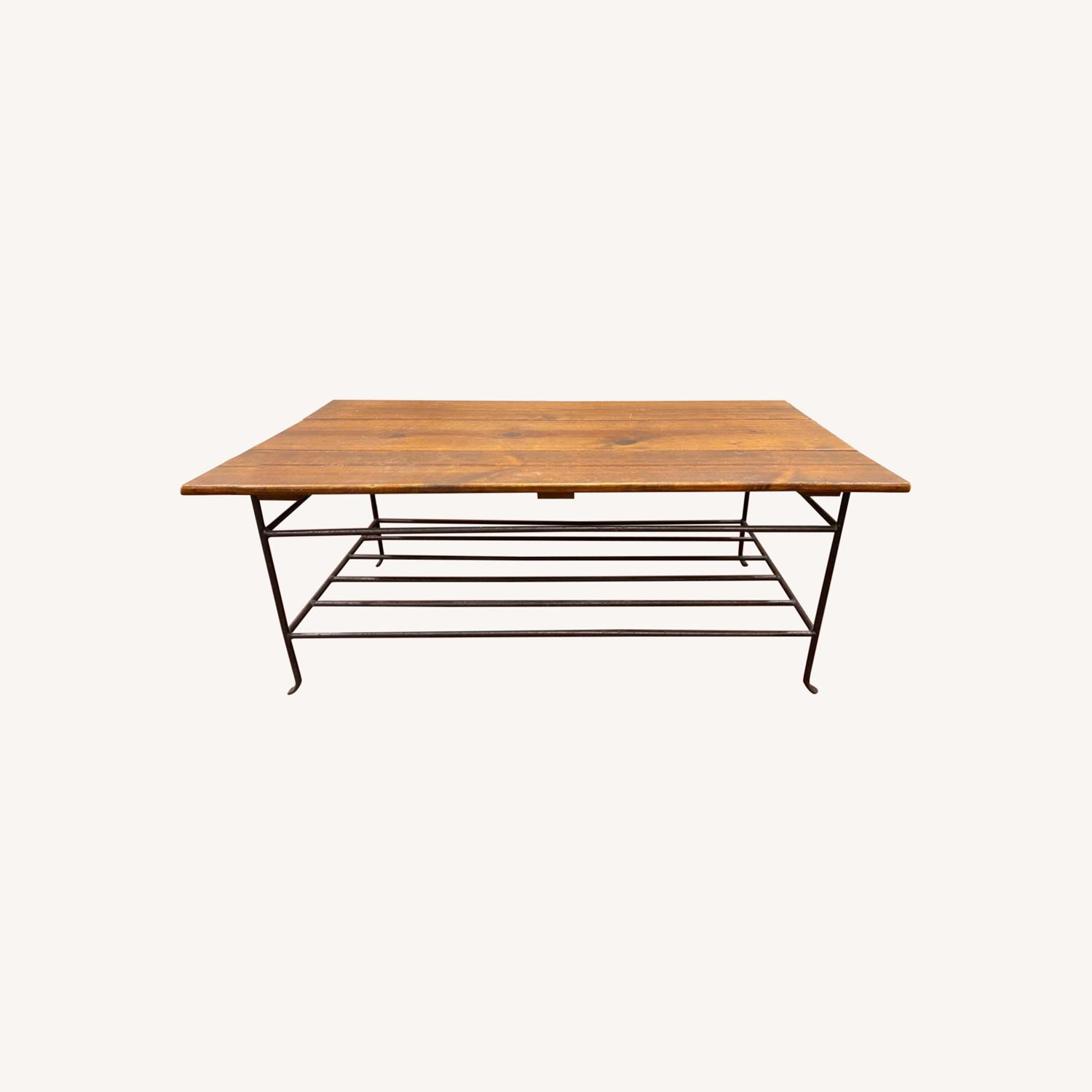 Wooden Coffee Table - image-0