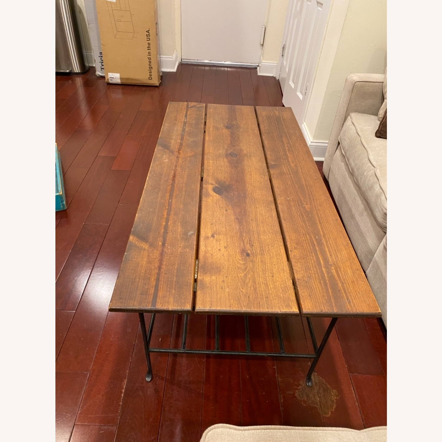 Wooden Coffee Table - image-3