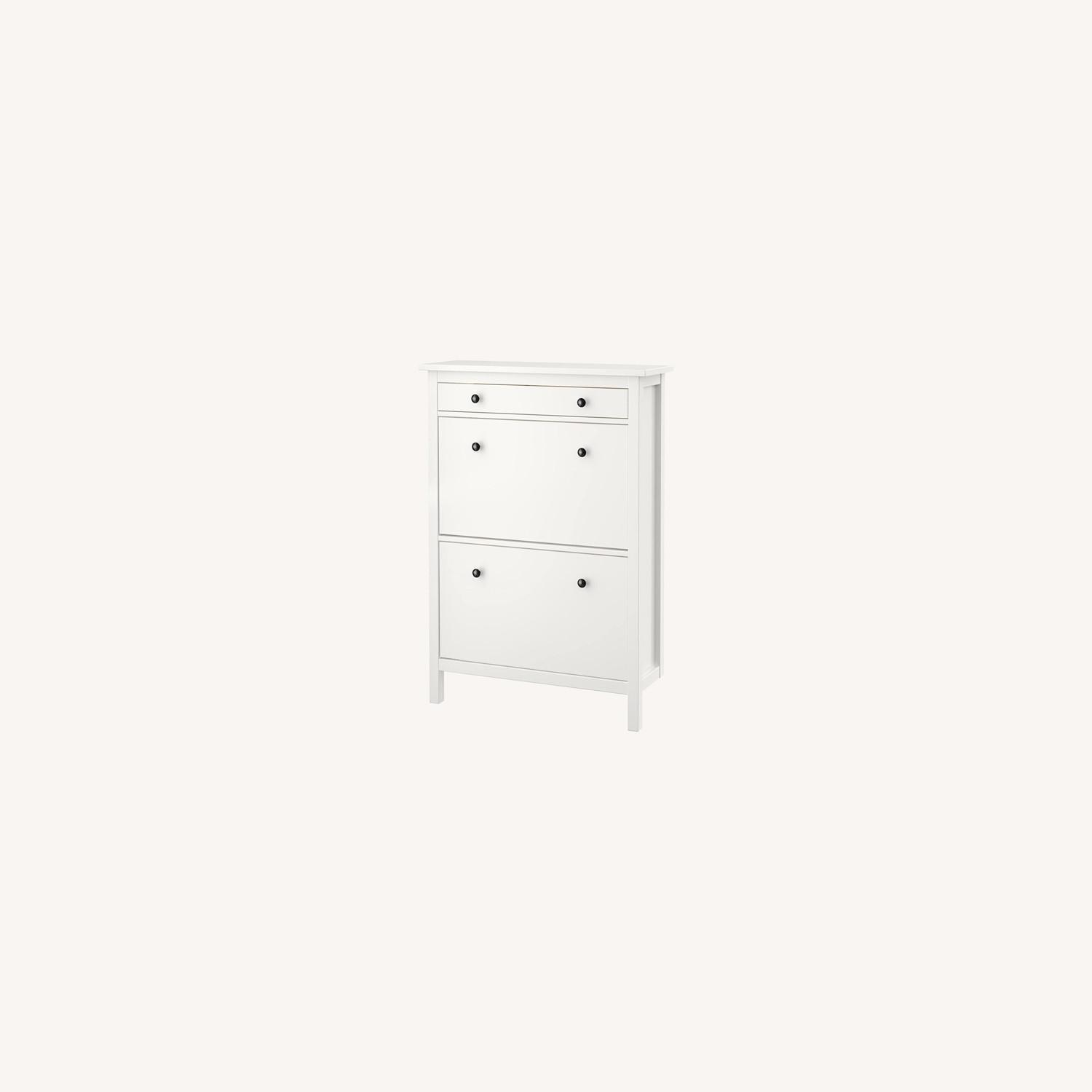 IKEA Shoe Cabinet with 2 Compartments - image-0
