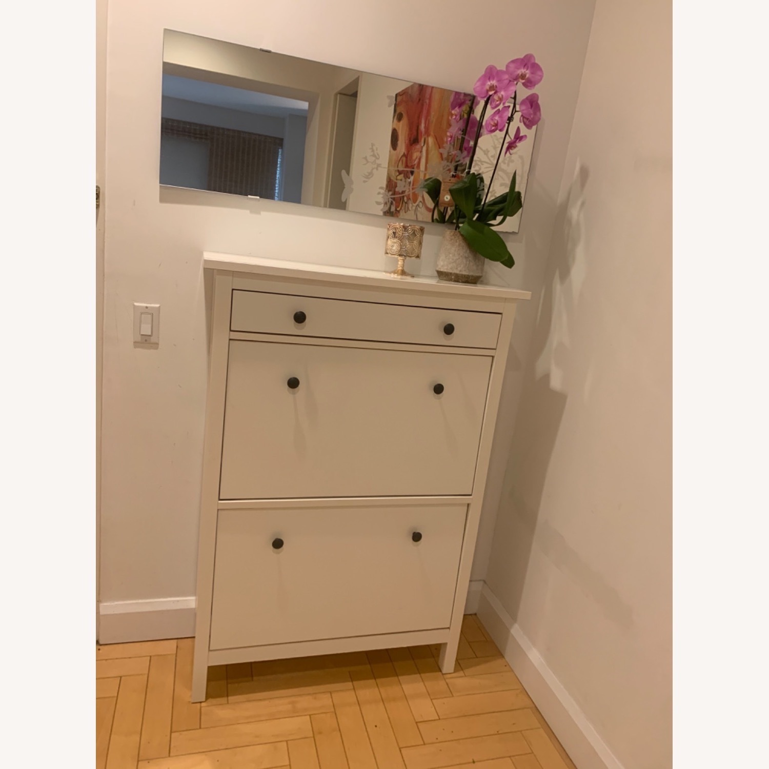 IKEA Shoe Cabinet with 2 Compartments - image-3