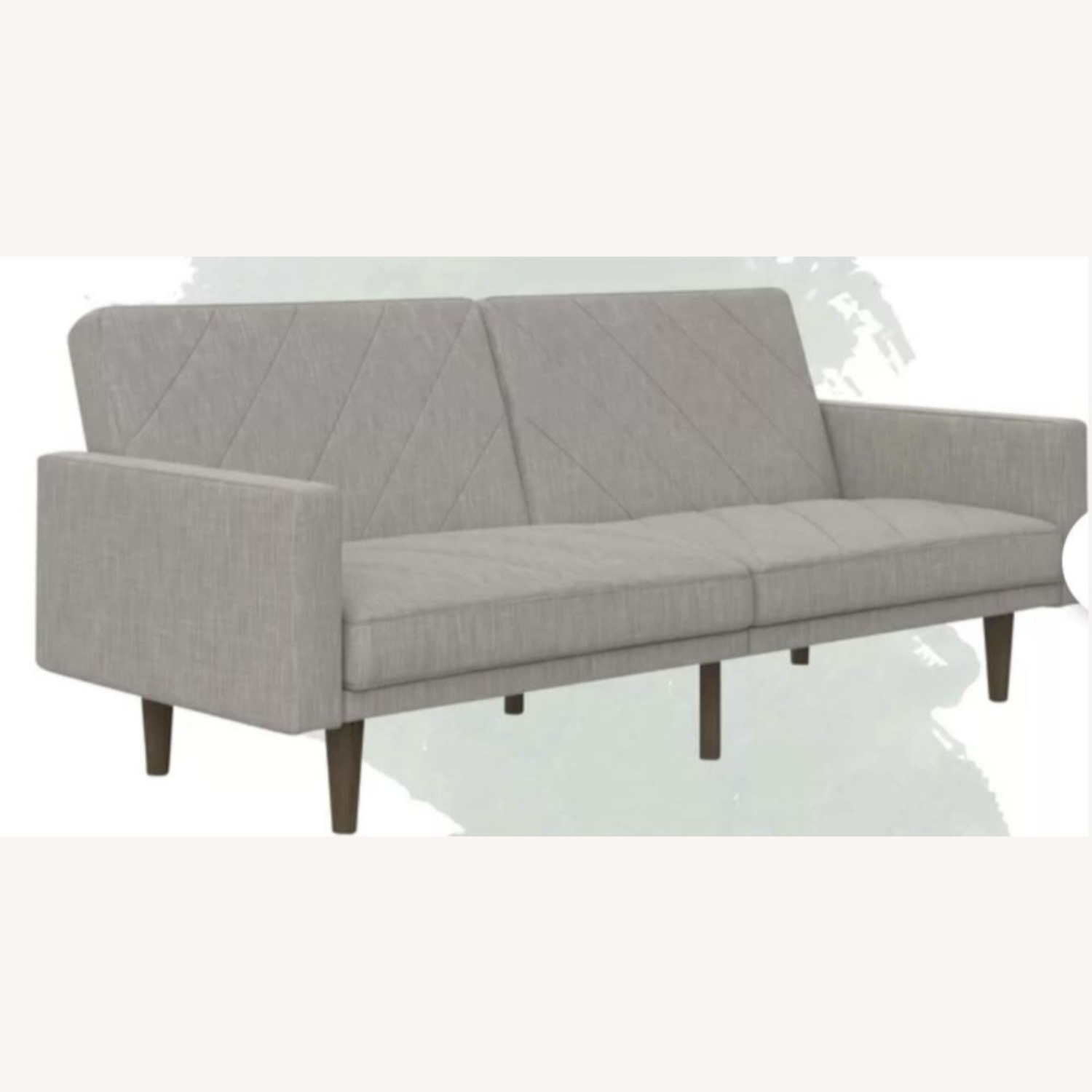 DHP Furniture Austen Twin Split Back Convertible Sofa - image-1
