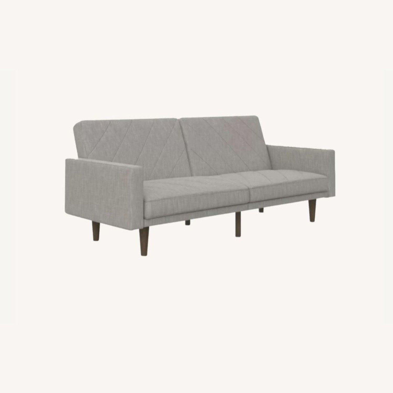 DHP Furniture Austen Twin Split Back Convertible Sofa - image-0