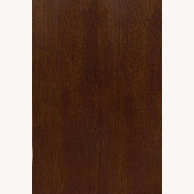 Modern Wood Bunk Bed In Walnut Finish - image-2
