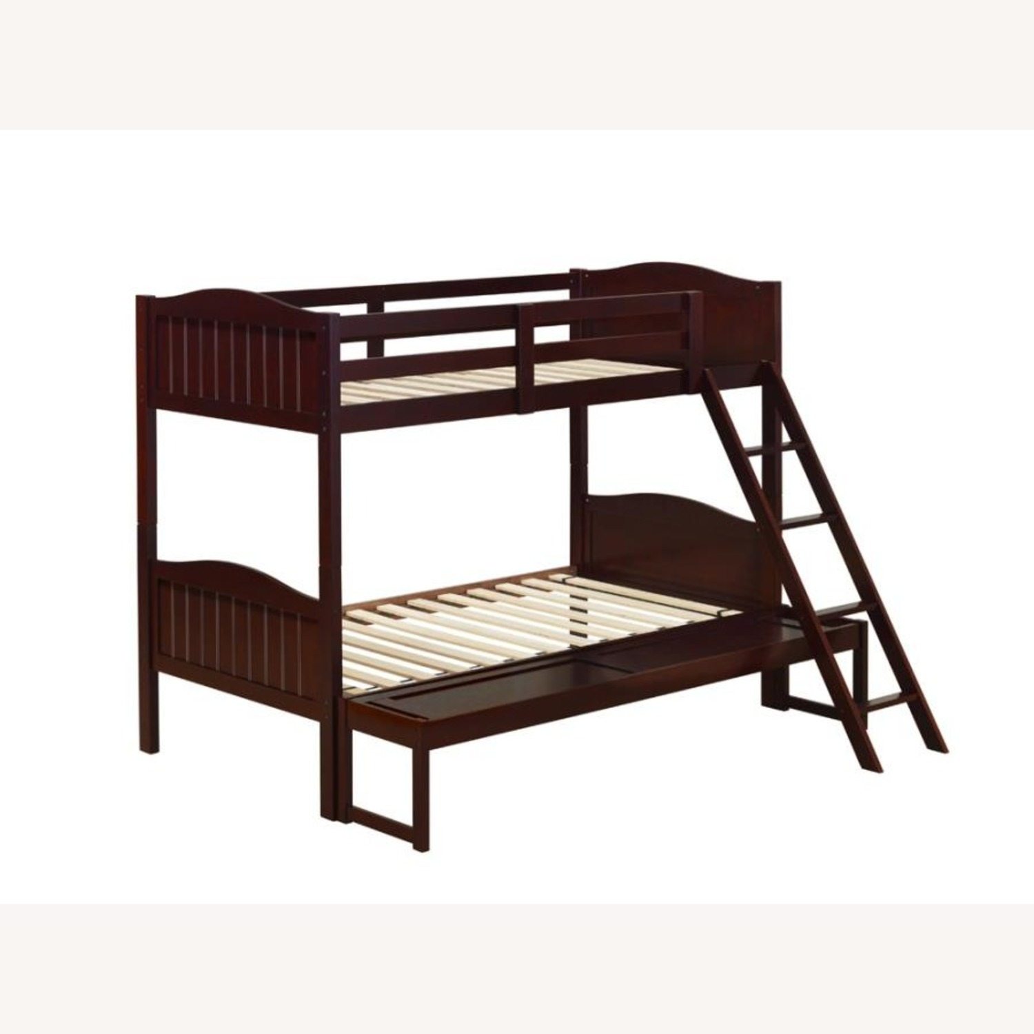 Twin-Over-Full Bunk Bed In Espresso Finish - image-1
