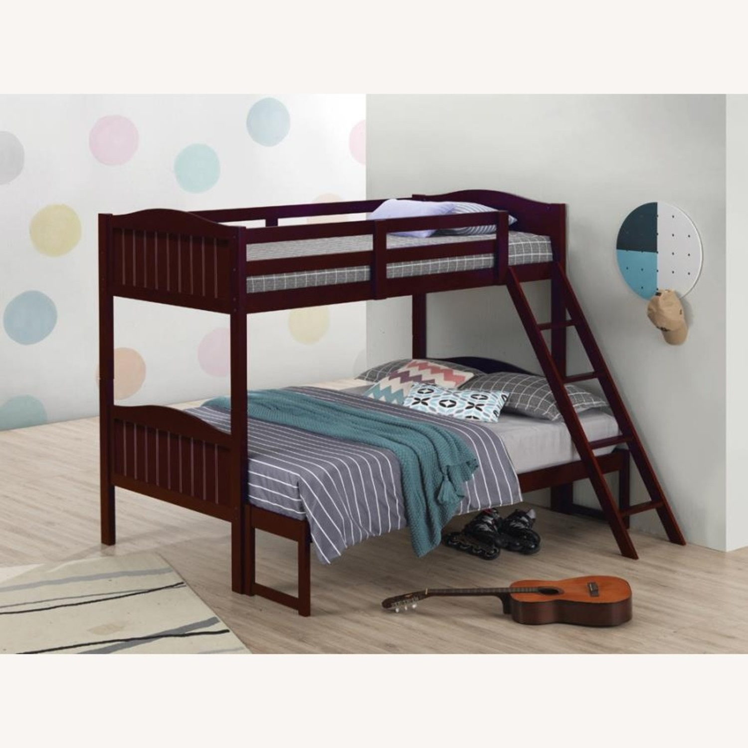 Twin-Over-Full Bunk Bed In Espresso Finish - image-3
