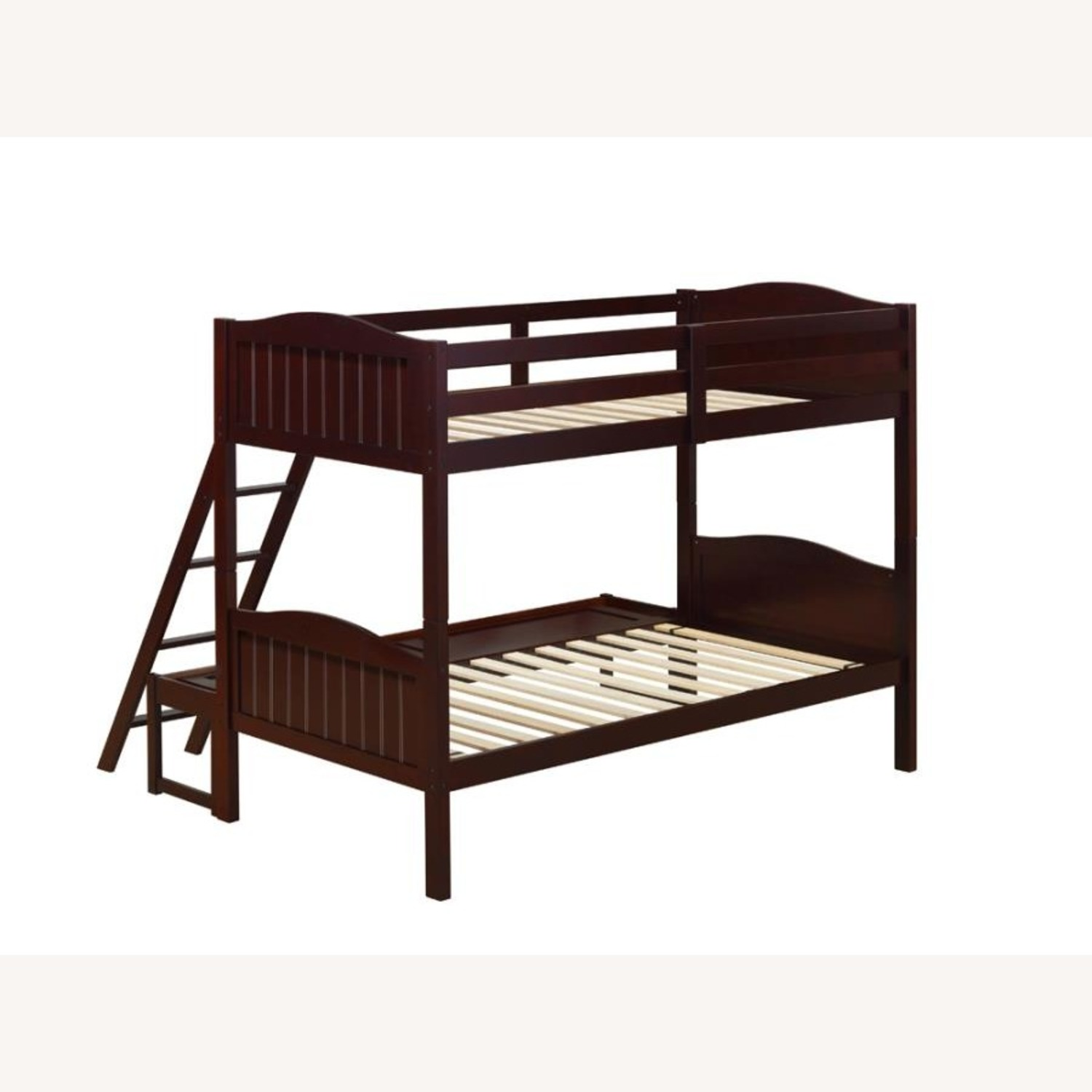 Twin-Over-Full Bunk Bed In Espresso Finish - image-2