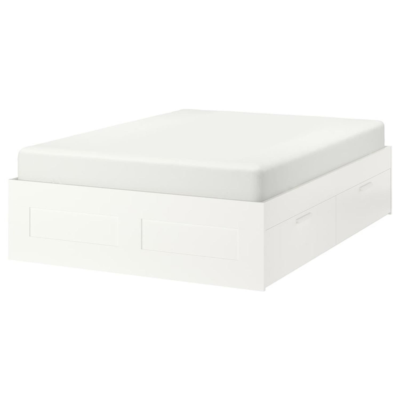 IKEA Queen Bed - image-0