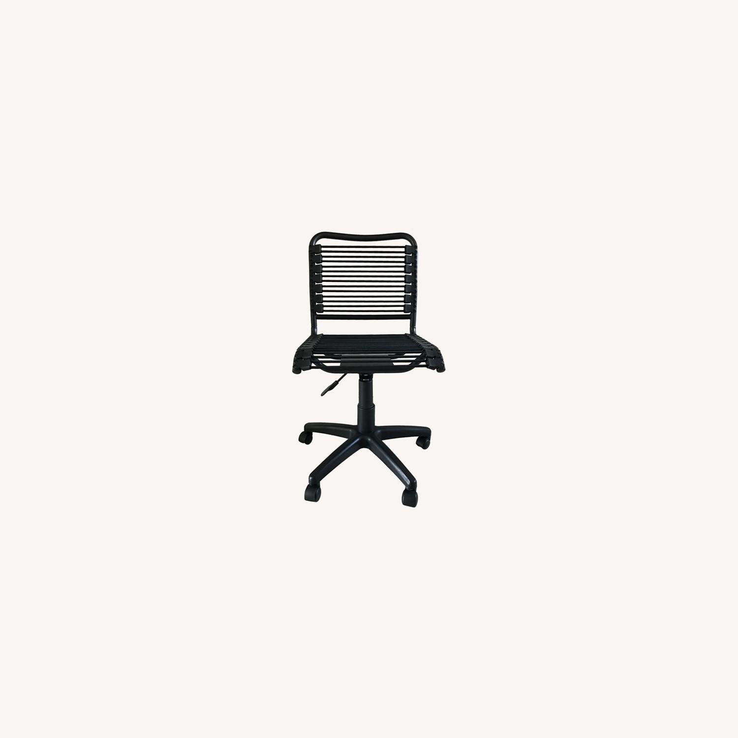 Black Bungee Office / Desk Chair - image-0