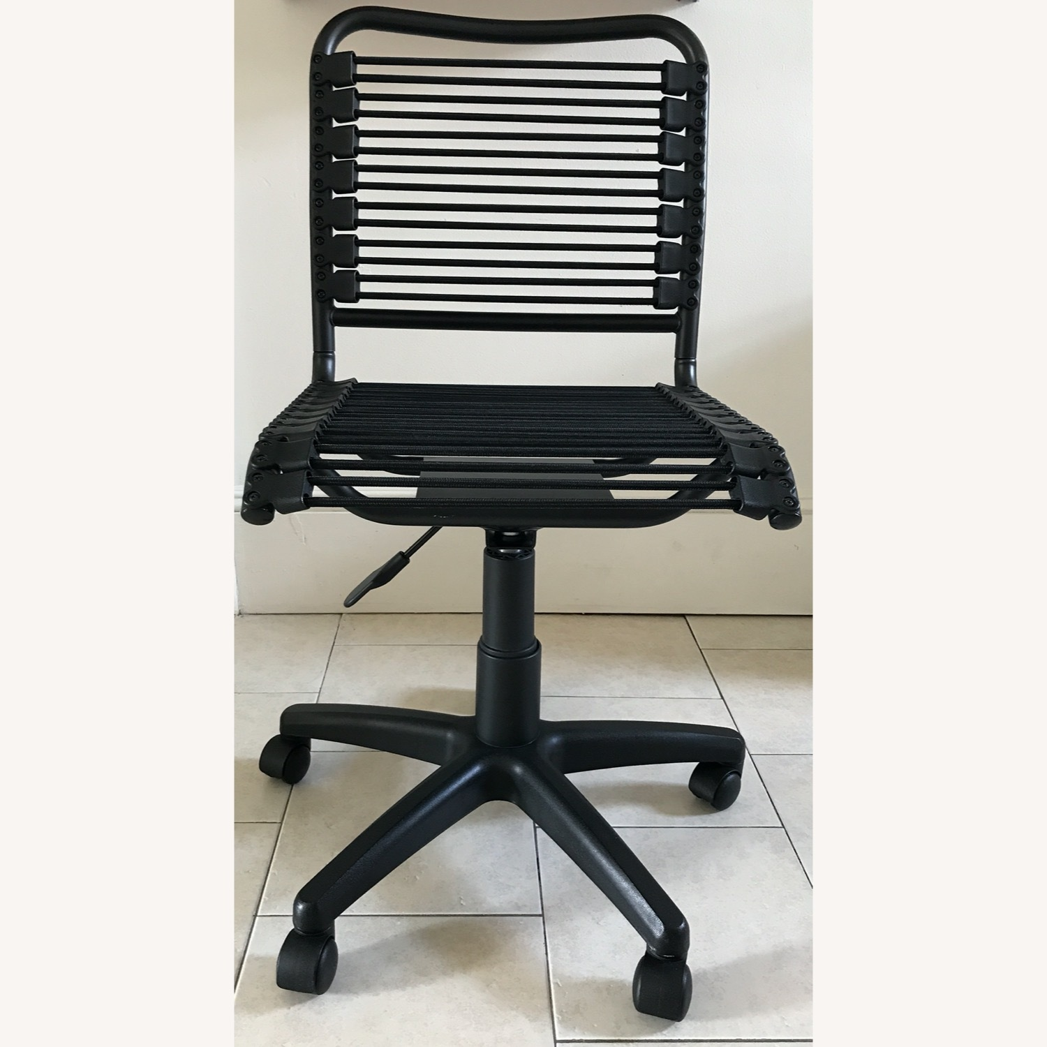 Black Bungee Office / Desk Chair - image-1