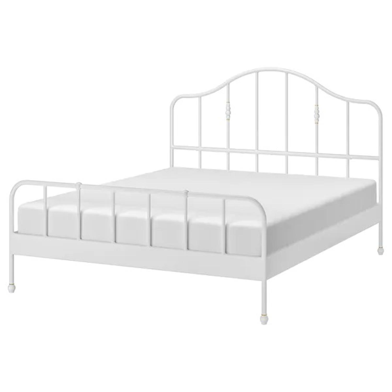 IKEA SAGSTUA Bed Frame - image-1