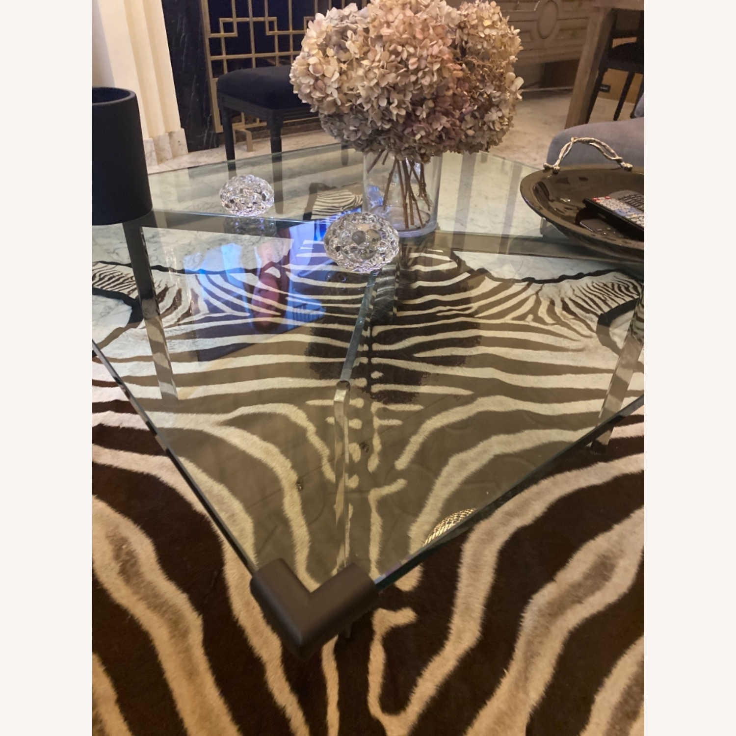 Design Within Reach Barcelona Glass Coffee Table - image-1