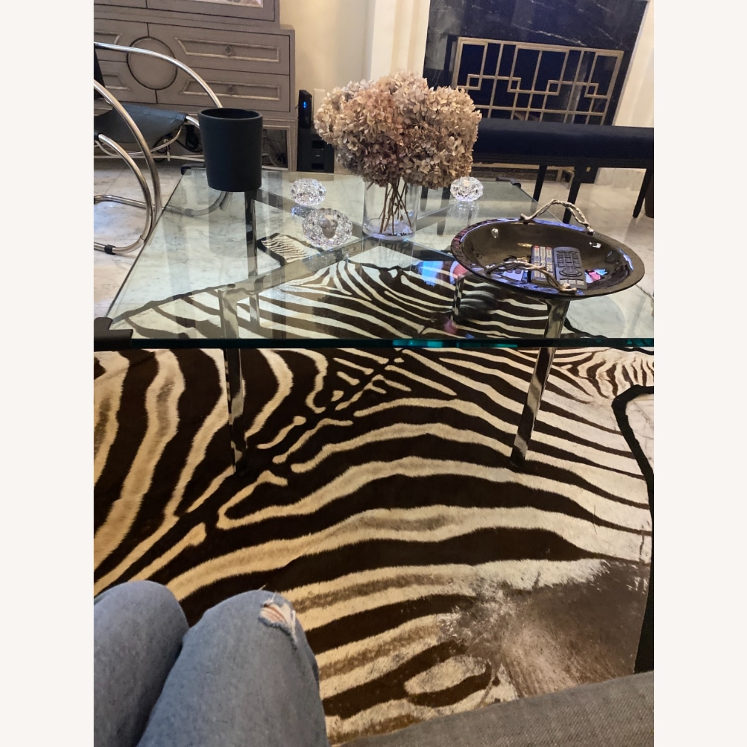 Design Within Reach Barcelona Glass Coffee Table - image-3