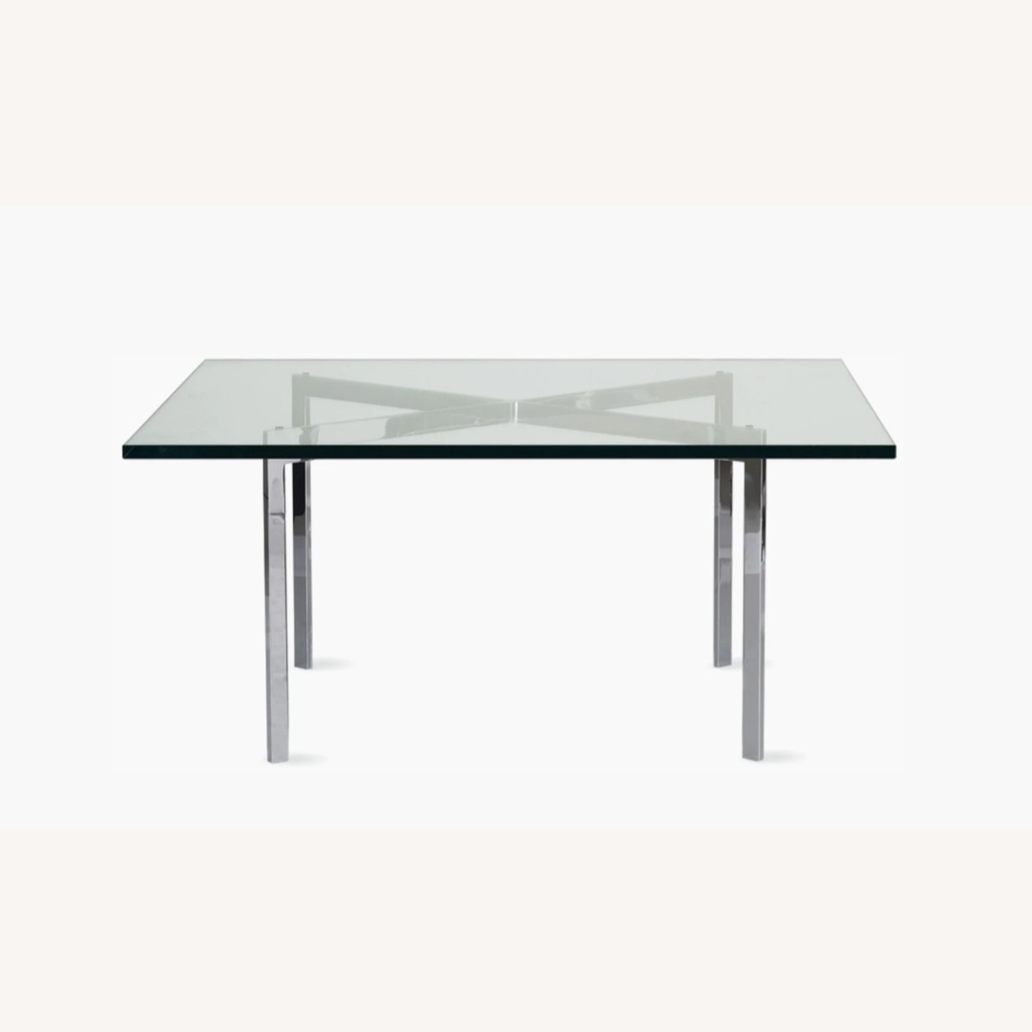 Design Within Reach Barcelona Glass Coffee Table - image-0