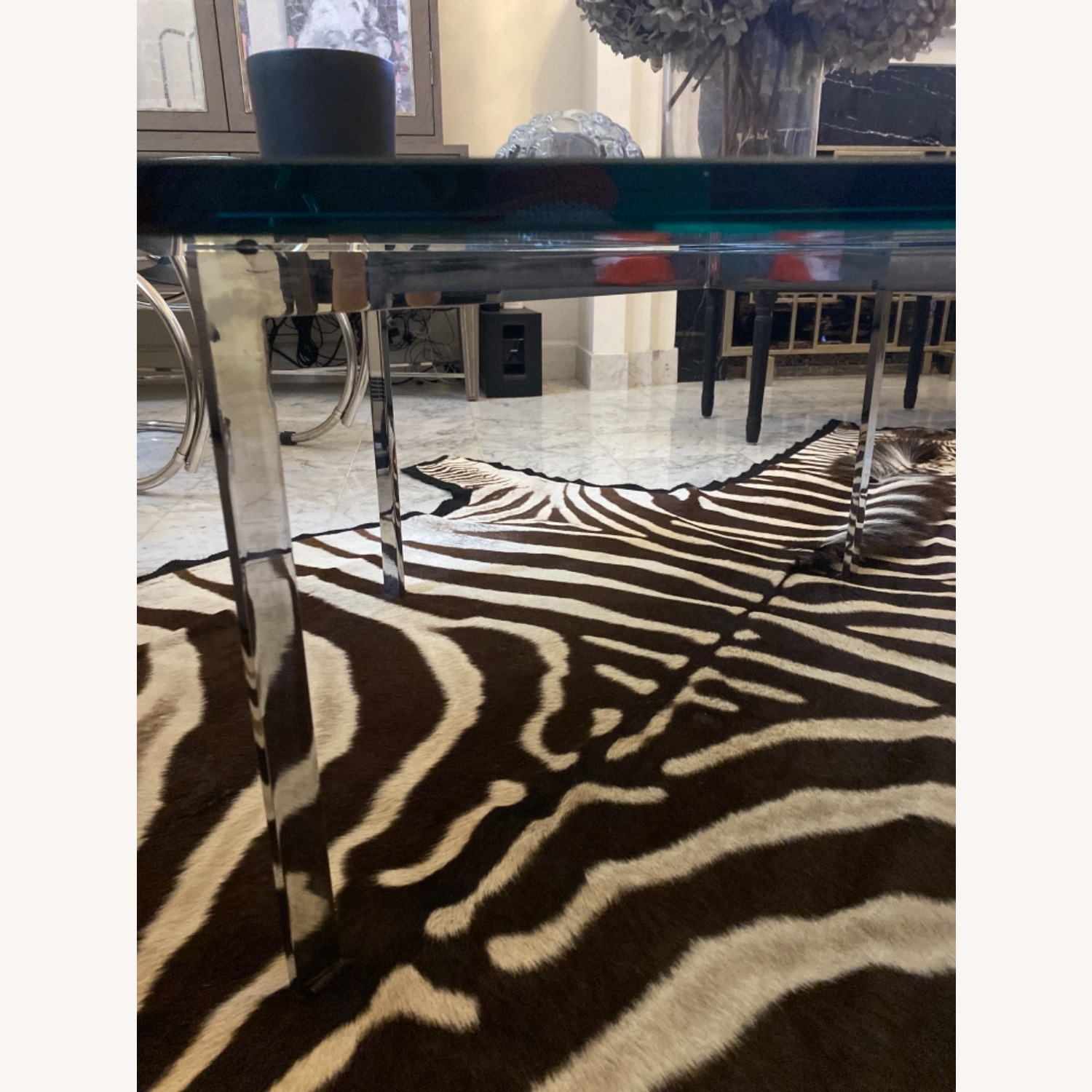 Design Within Reach Barcelona Glass Coffee Table - image-2