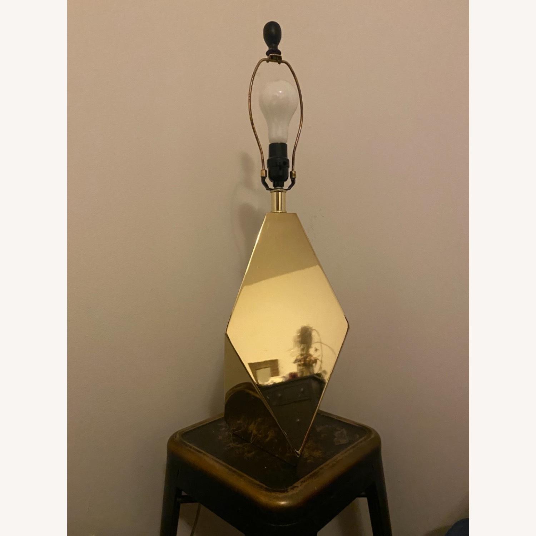 Target Nate Berkus Gold Faceted Table Lamp - image-3
