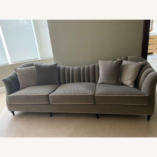 Used Christopher Guy Gray Sofa for sale on AptDeco