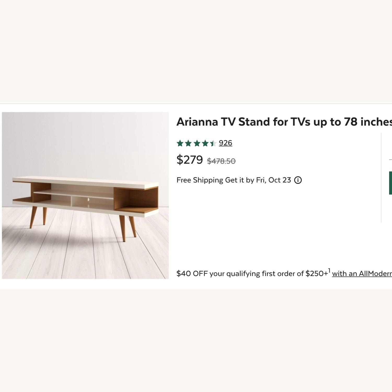AllModern Arianna Media Storage - image-1
