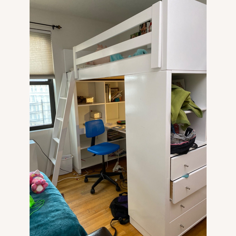 Room & Board Moda Loft Bed with Desk - image-1