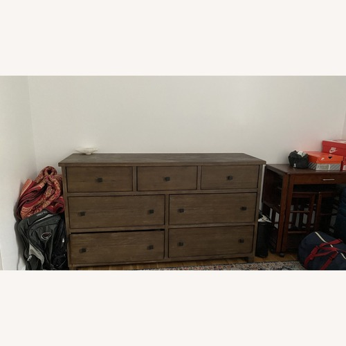 Used Macy's Canyon 7 Drawer Dresser for sale on AptDeco