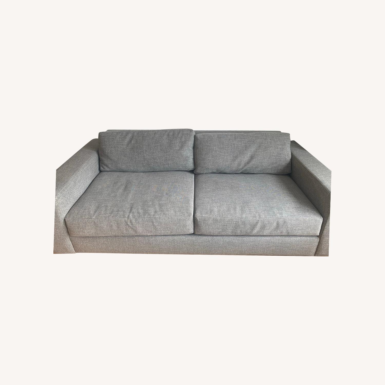 West Elm Urban Sofa Grey - image-0