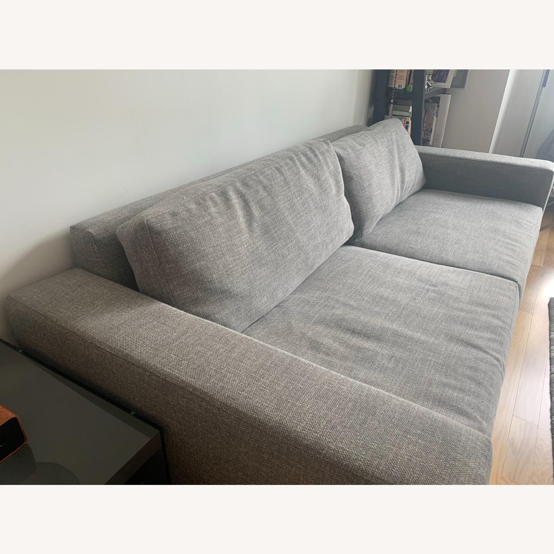 West Elm Urban Sofa Grey - image-7