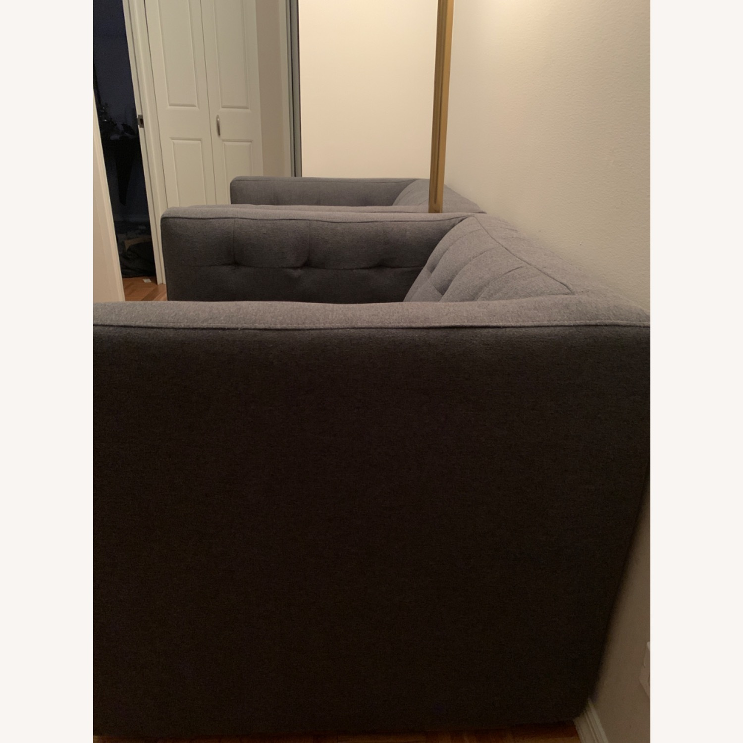 West Elm Swivel Chair - image-2