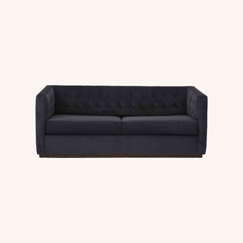 West Elm Rochester Sofa in Performance Velvet - image-0