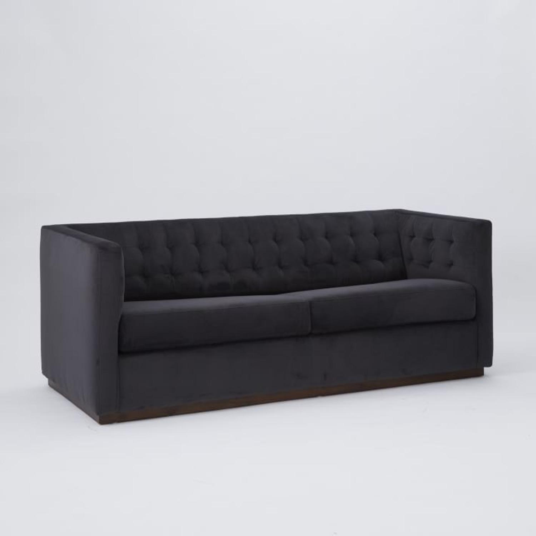 West Elm Rochester Sofa in Performance Velvet - image-2