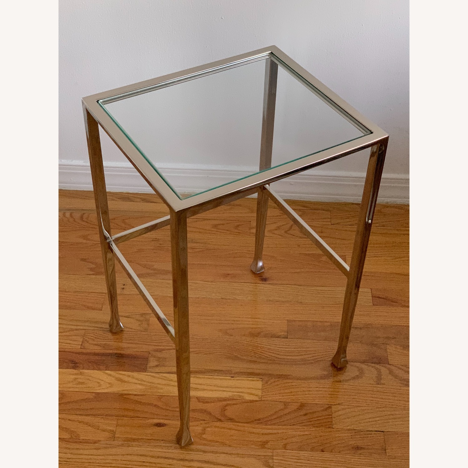 Pottery Barn Nickel End Tables - image-6