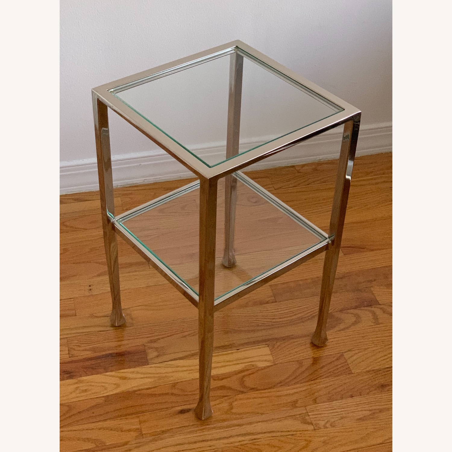 Pottery Barn Nickel End Tables - image-7