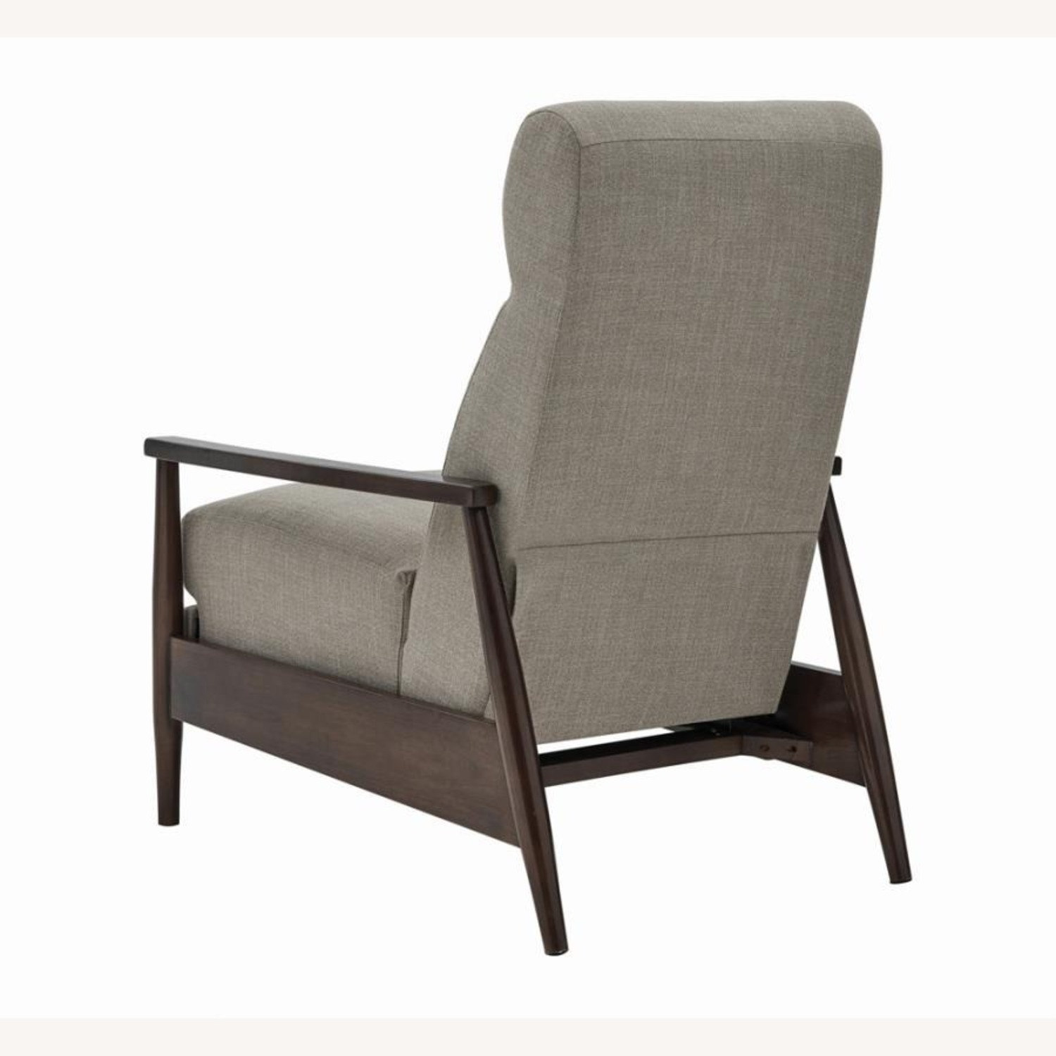 Push-Back Recliner In Cream Performance Fabric - image-5
