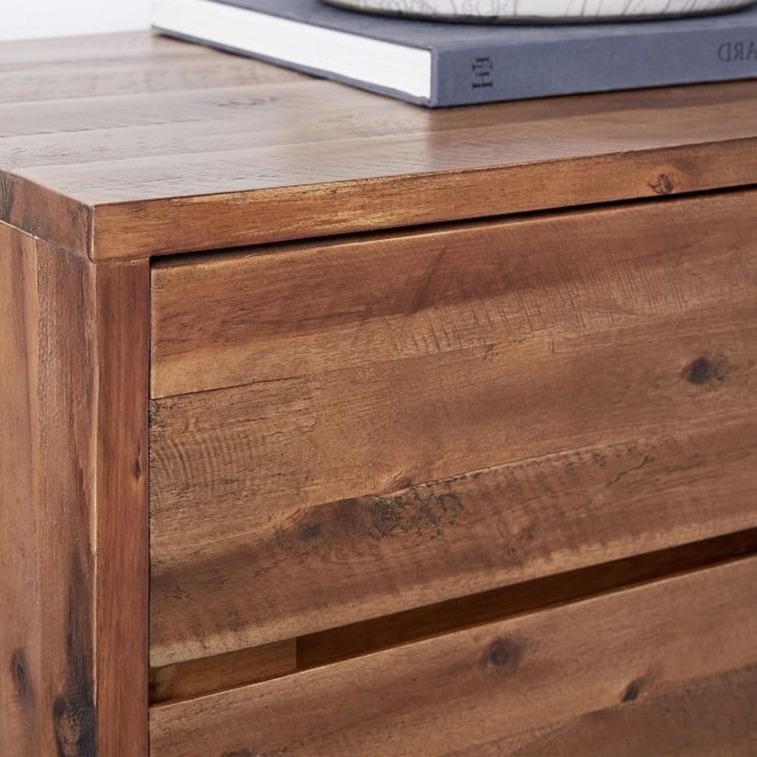 West Elm Industrial Nightstand Pair Natural - image-4