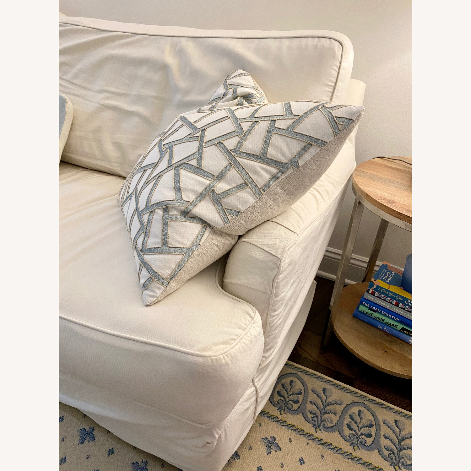 Off White Cisco Couch - image-7