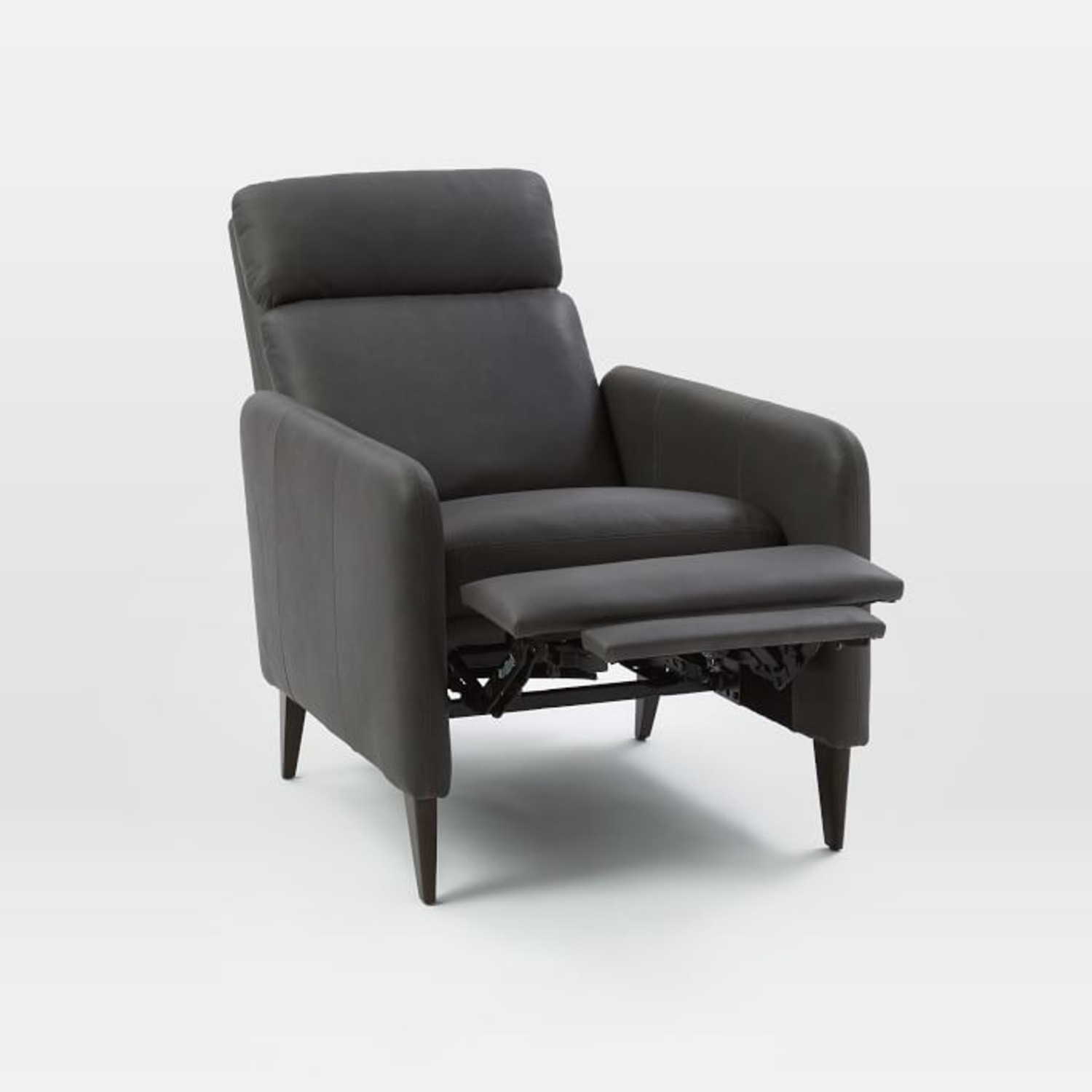 West Elm Lewis Leather Recliner - image-3