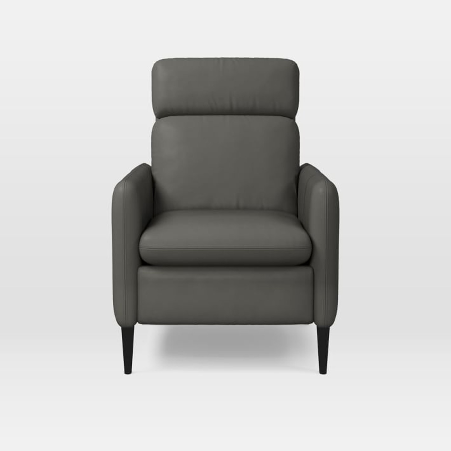 West Elm Lewis Leather Recliner - image-1