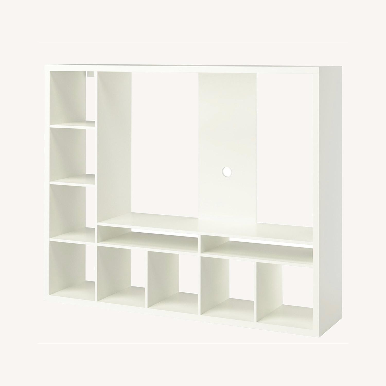 IKEA White TV Storage Unit - image-0