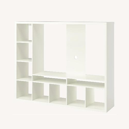 Used IKEA White TV Storage Unit for sale on AptDeco