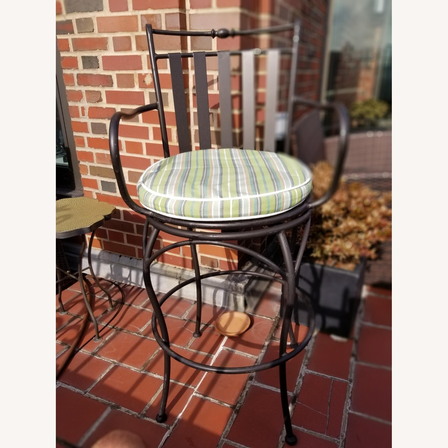Wrought Iron Outdoor Dining Set - image-4