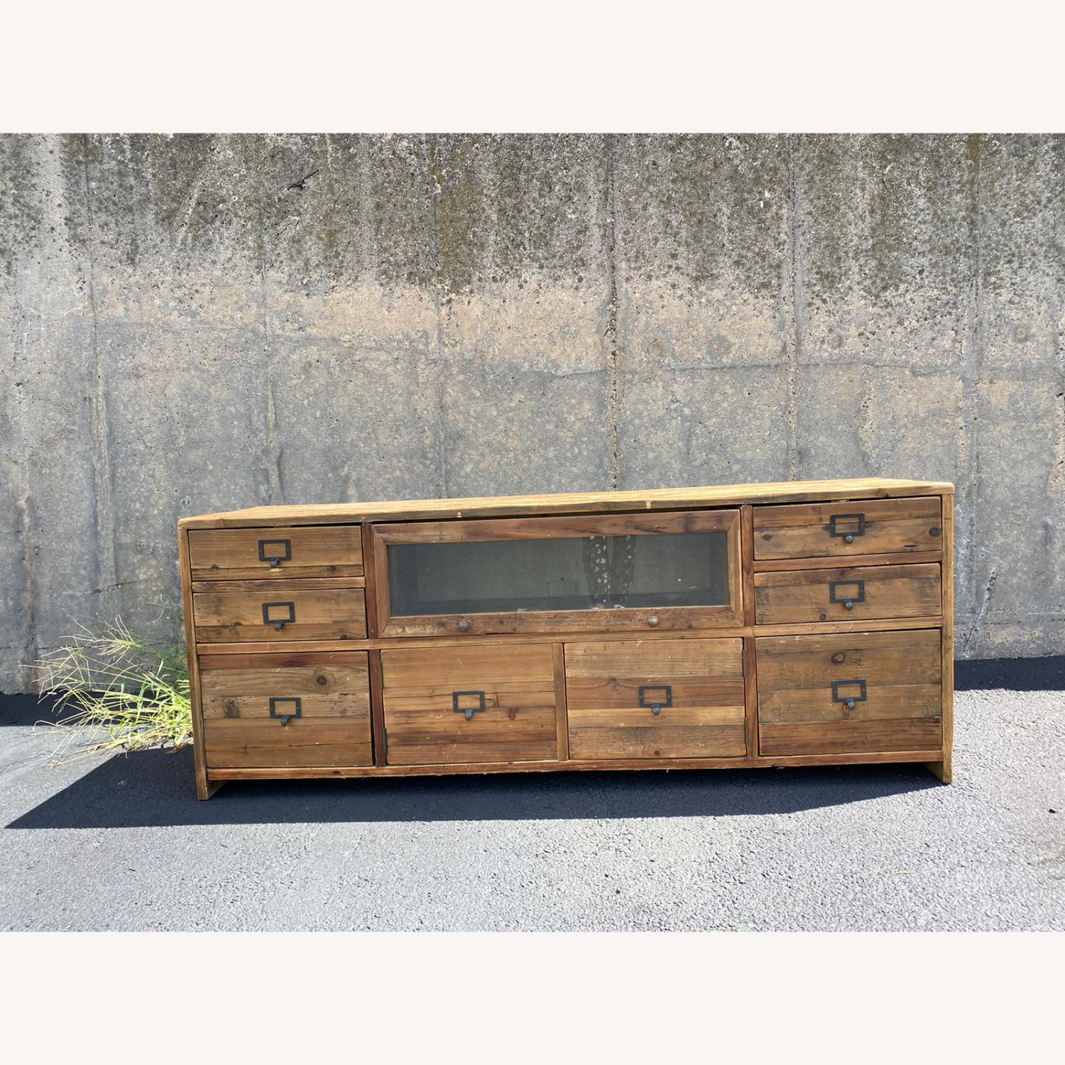 Crate & Barrel Reclaimed Wood Media Console - image-2