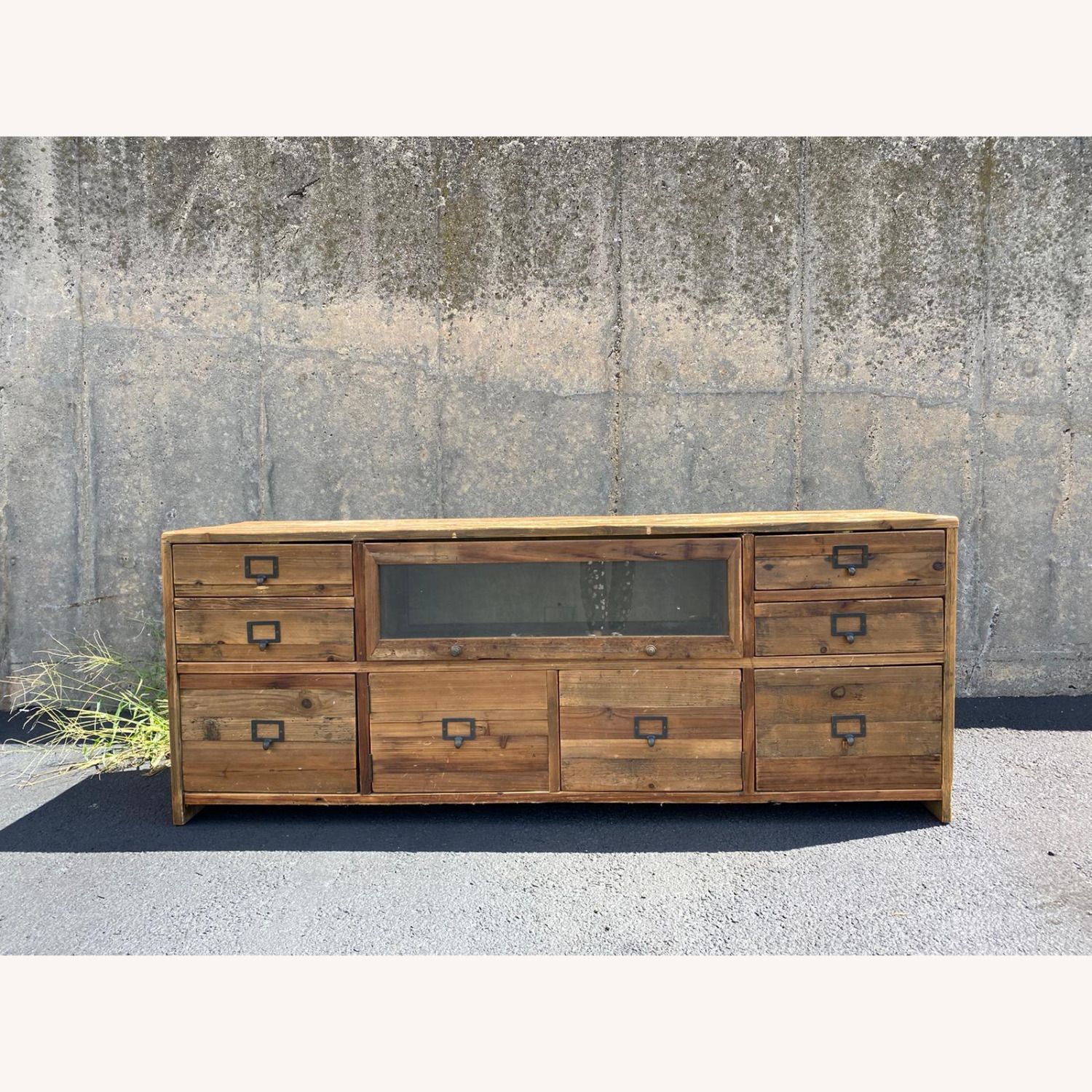 Crate & Barrel Reclaimed Wood Media Console - image-1