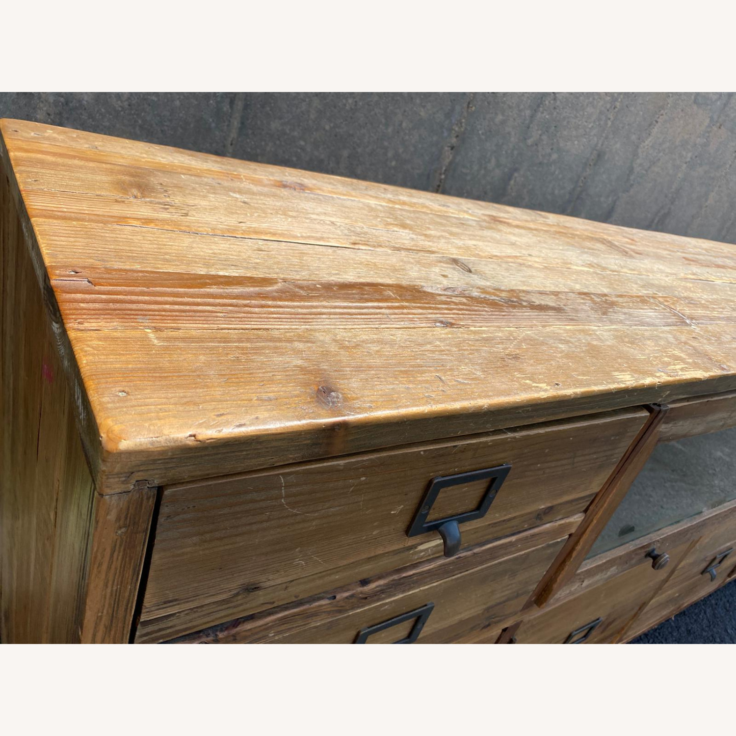 Crate & Barrel Reclaimed Wood Media Console - image-3