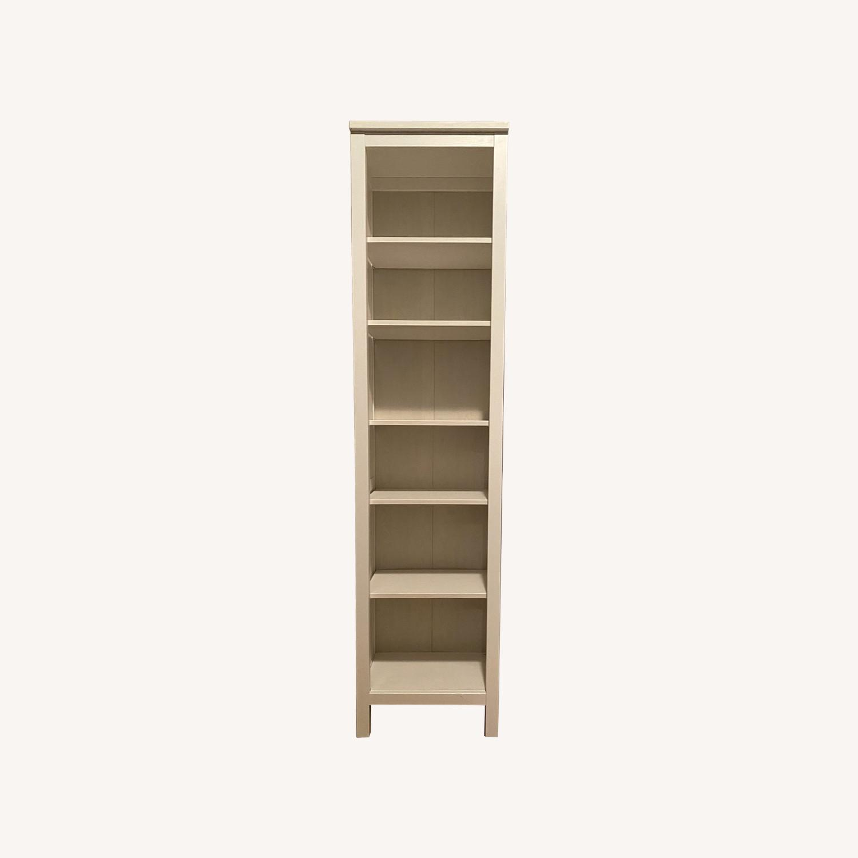 IKEA Hemnes White Stained Bookshelves - image-0
