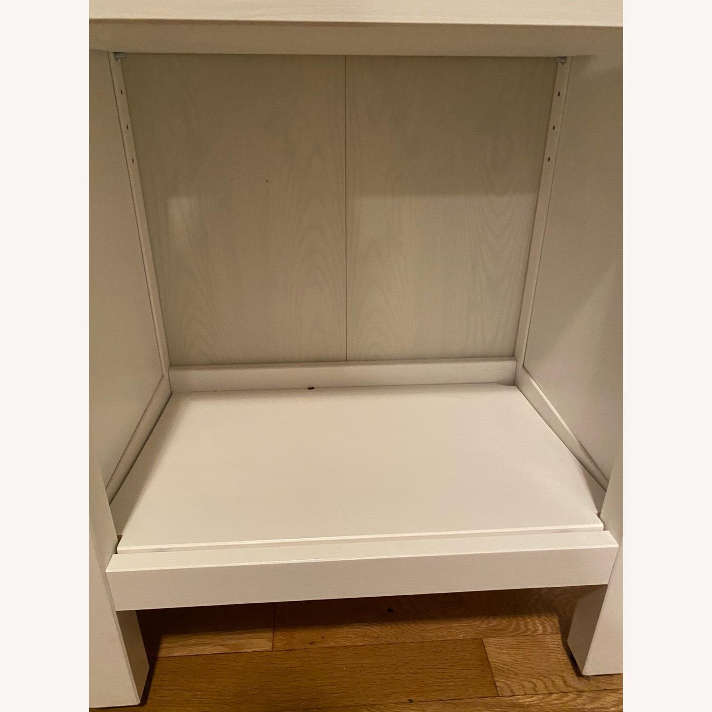 IKEA Hemnes White Stained Bookshelves - image-3