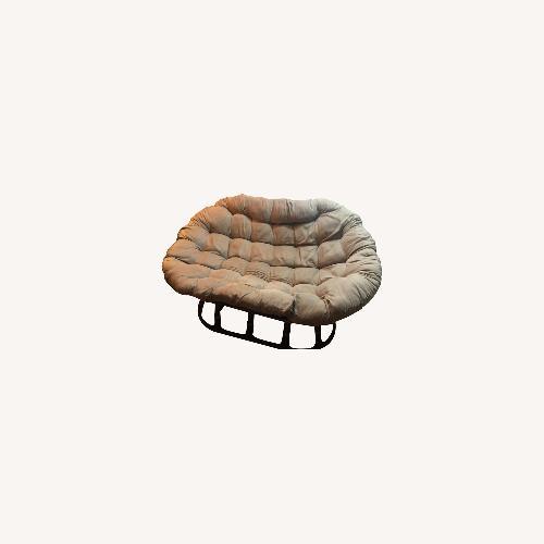 Used Wayfair Papasan Chair for sale on AptDeco